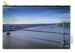 Mid-hudson Bridge In Spring Carry-all Pouch
