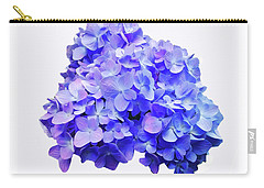 Carry-all Pouch featuring the photograph Mid-summer Blue by Roger Bester