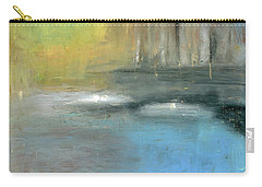 Carry-all Pouch featuring the painting Mid-summer Glow by Michal Mitak Mahgerefteh