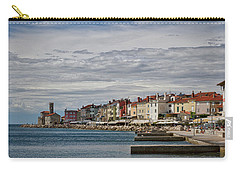 Carry-all Pouch featuring the photograph Midday In Piran - Slovenia by Stuart Litoff