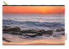 Middle Beach Sunrise Carry-all Pouch