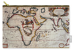 Middle Earth Map - Vintage Carry-all Pouch by Pg Reproductions