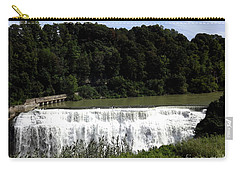 Middle Falls In Rochester New York Carry-all Pouch
