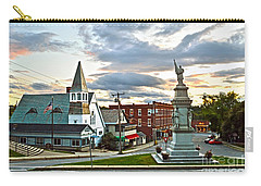 Middlebury Vermont At Sunset Carry-all Pouch