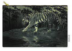 Midnight At The Oasis Carry-all Pouch by Diane Schuster