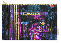 Midnight At Tiffany Painting Carry-all Pouch