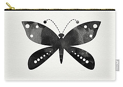 Midnight Butterfly 4- Art By Linda Woods Carry-all Pouch
