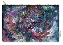 Midnight Dancing Bubbles Carry-all Pouch