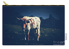 Carry-all Pouch featuring the photograph Midnight Encounter by Sharon Mau