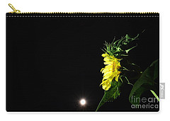 Midnight Flower Carry-all Pouch by Angela J Wright