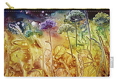 Midnight Flowers Carry-all Pouch
