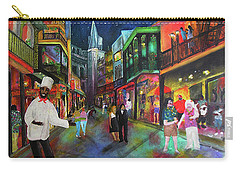 Midnight In New Orleans Carry-all Pouch