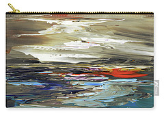 Carry-all Pouch featuring the painting Midnight In The Keys by Tatiana Iliina