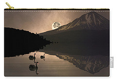 Midnight Moods Swan Lake In The Moonlight Carry-all Pouch