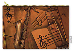 Midnight Music Carry-all Pouch by AmaS Art
