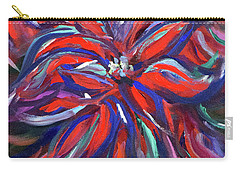 Midnight Poinsettia Carry-all Pouch