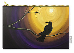 Midnight Raven Carry-all Pouch