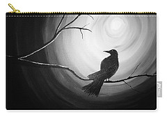 Midnight Raven Noir Carry-all Pouch