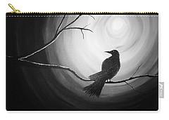 Midnight Raven Noir Carry-all Pouch