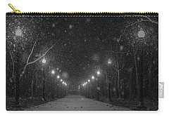 Midnight Snow Storm Carry-all Pouch