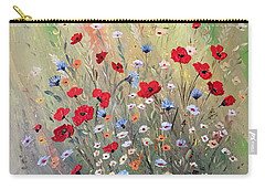 Midsummer Poppies Carry-all Pouch