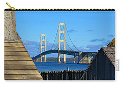Mighty Mac From Michilimackinac Carry-all Pouch