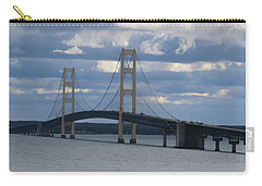 Mighty Mac The Mackinac Bridge Carry-all Pouch