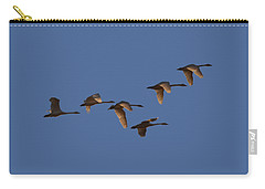 Migrating Swans Carry-all Pouch