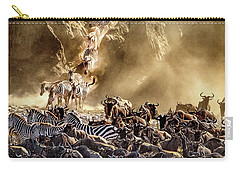 Migration Crossing Drama Carry-all Pouch by Janis Knight