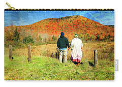 Mike And Lisa Carry-all Pouch