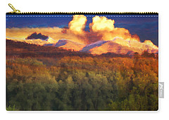 Milagro Cloud Theater Over Truchas Peaks Nm Carry-all Pouch