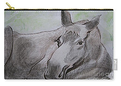 Mildred The Moose Resting Carry-all Pouch