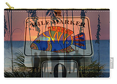 Carry-all Pouch featuring the photograph Mile Marker 0 Sunset by David Lee Thompson