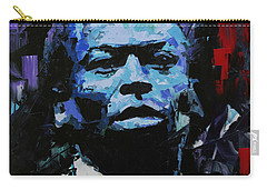 Carry-all Pouch featuring the painting Miles Davis by Richard Day