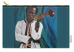 Miles-in A Really Cool White Shirt Carry-all Pouch