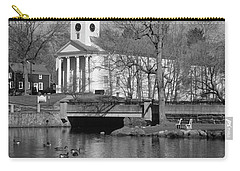 Milford Congregational Church Bw Carry-all Pouch