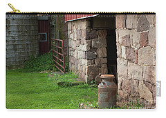 Milk Can At Stone Barn Carry-all Pouch