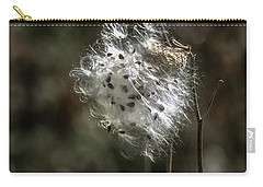 Milkweed Dried Ready To Blow In The Wind Carry-all Pouch