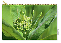 Carry-all Pouch featuring the photograph Milkweed Flower  by Lyle Crump