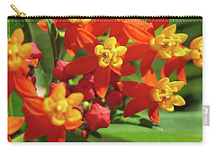 Milkweed Flowers Carry-all Pouch