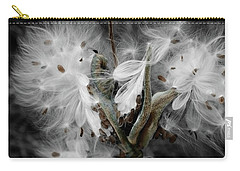 Milkweed Whisper Carry-all Pouch