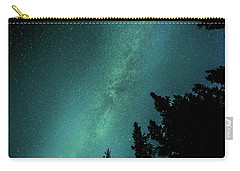 Milky Way Above The Trees Carry-all Pouch