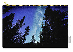 Milky Way Among The Trees Carry-all Pouch