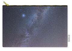 Milky Way And A Planet Over The Umbrella Carry-all Pouch