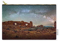 Milky Way At Arches Park Carry-all Pouch