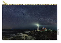 Milky Way At Portland Head Light Carry-all Pouch