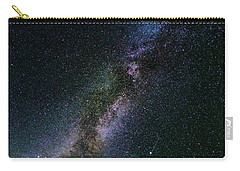 Carry-all Pouch featuring the photograph Milky Way Core by Bryan Carter