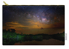 Milky Way Fire Carry-all Pouch by Mark Andrew Thomas