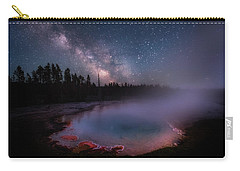 Milky Way In Yellowstone Carry-all Pouch