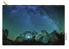Carry-all Pouch featuring the photograph Milky Way by Okan YILMAZ
